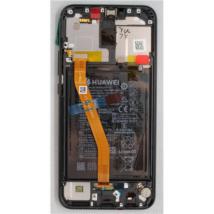 LCD Huawei Mate 20 Lite fekete ORG 02352GTW