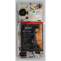 LCD Huawei P40 fehér ORG 02353MFW