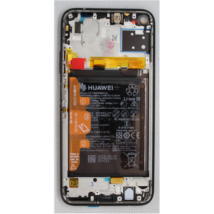 LCD Huawei P40 lite fekete ORG 02353KFU