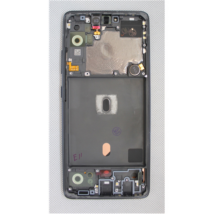 LCD Samsung A516 A51 5G fekete ORG GH82-23124A