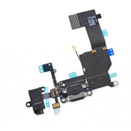 dockflex + audioflex iPhone 5C fekete !AKCIÓS!