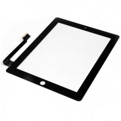 előlap iPad 3 fekete ORG