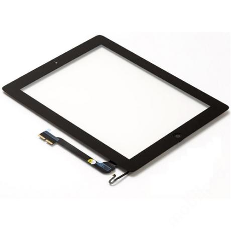 előlap iPad 4 fekete ORG