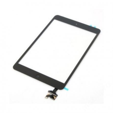 előlap iPad mini - iPad mini 2 + IC fekete