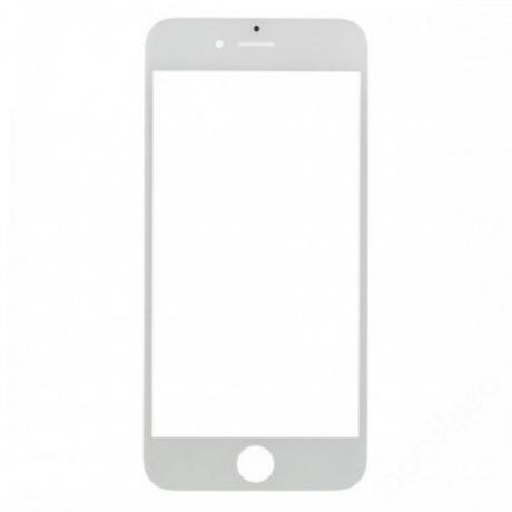 előlap üveg iPhone 6 Plus fehér