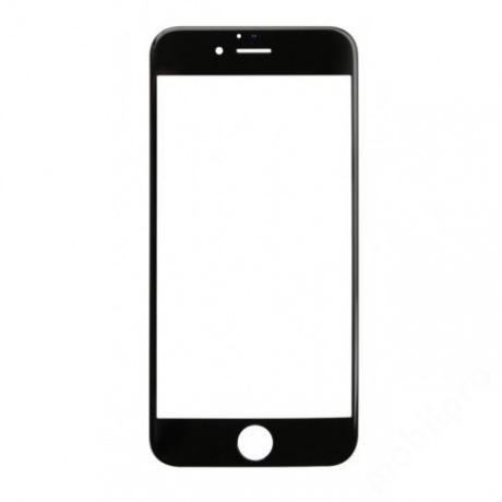 előlap üveg iPhone 6 Plus fekete