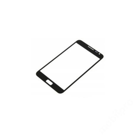 előlap üveg Samsung Note 1 fekete !AKCIÓS!