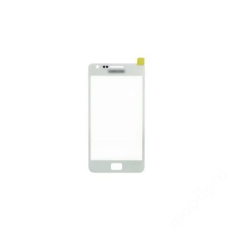 előlap üveg Samsung S2 fehér !AKCIÓS!