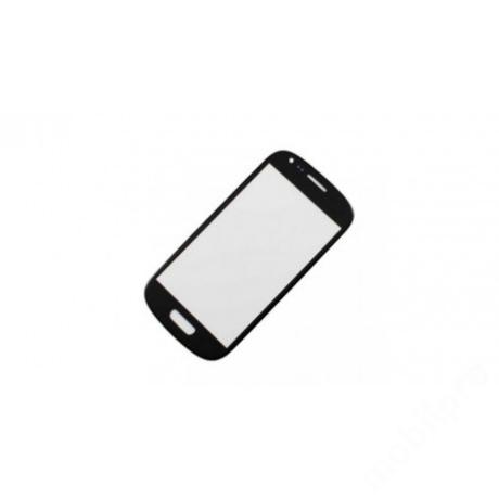 előlap üveg Samsung S3 mini fekete !AKCIÓS!