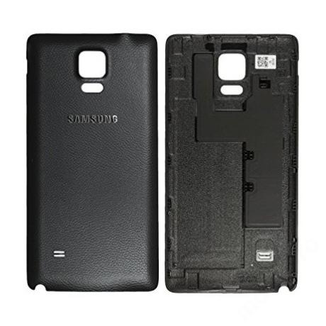 hátlap Samsung N910 Note 4 fekete ORG GH98-34209B