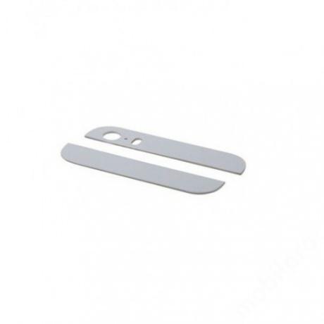 hátlapi üvegcsíkok iPhone 5S ORG fehér