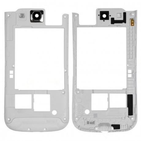 hátlap-keret Samsung i9300 S3 fehér !AKCIÓS!