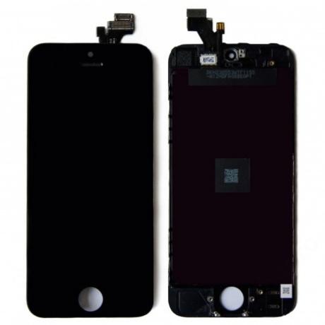 LCD iPhone 5 fekete AAA