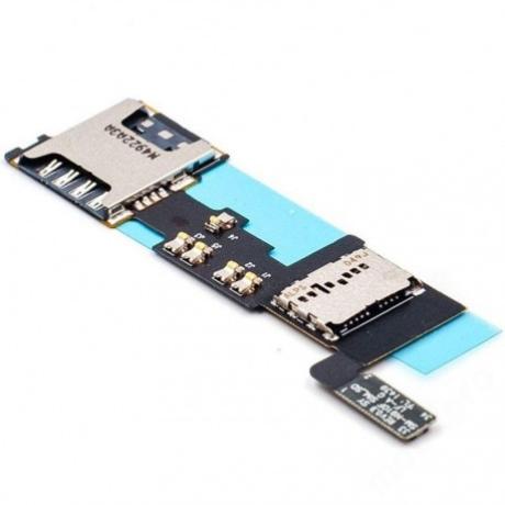 sim és memóriakártya olvasó Samsung N910 Note 4 !AKCIÓS!
