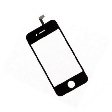 előlap üveg + érintő iPhone 4 fekete !AKCIÓS!