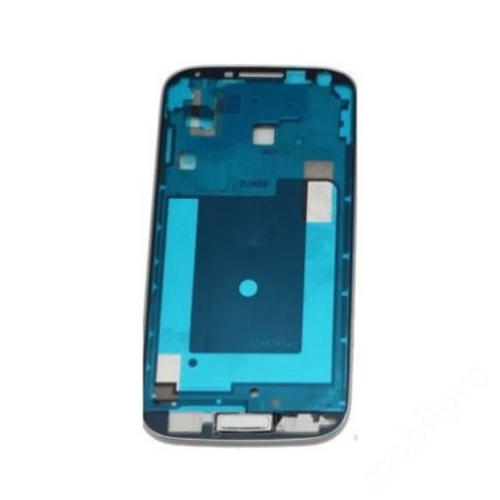LCD keret Samsung i9506 S4 LTE+ fehér + gomb !AKCIÓS!