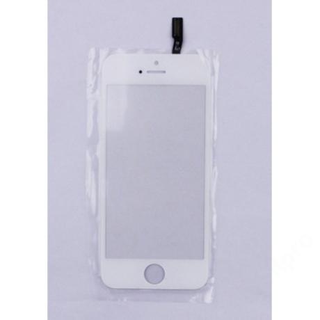 előlap üveg + érintő iPhone 5S fehér !AKCIÓS!
