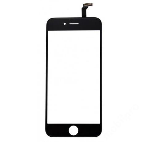 előlap üveg + érintő iPhone 6 fekete !AKCIÓS!