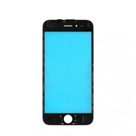 előlap üveg + keret iPhone 6 fekete