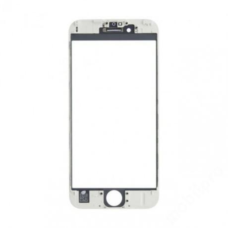előlap üveg + keret iPhone 6S fehér