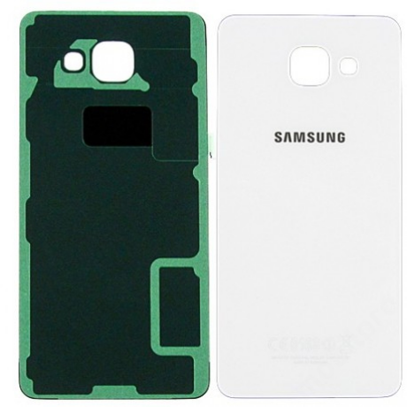 hátlap Samsung A510 A5 2016 fehér ORG GH82-11020C !AKCIÓS!