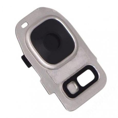 kameralencse üveg Samsung G935 S7 Edge fehér