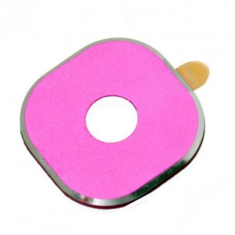kameralencse üveg Samsung G935 S7 Edge pink