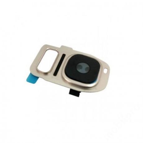 kameralencse üveg Samsung G930 S7 arany
