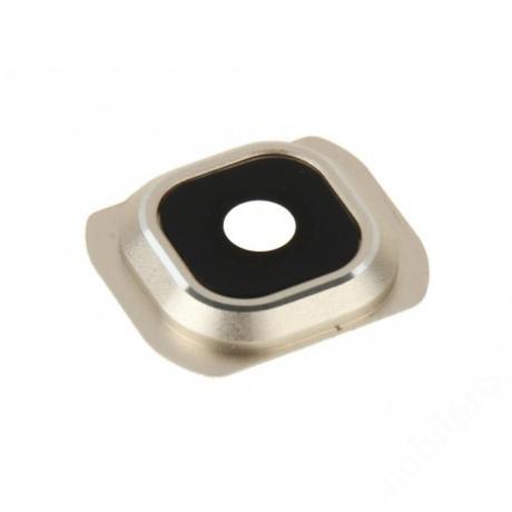 kameralencse üveg Samsung G925 S6 Edge arany