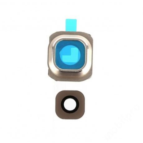 kameralencse üveg Samsung G920 S6 arany