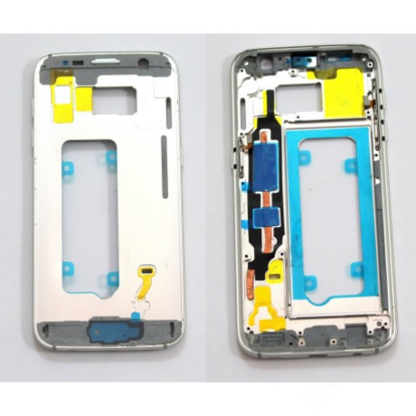 középkeret Samsung G930 S7 fehér !AKCIÓS!