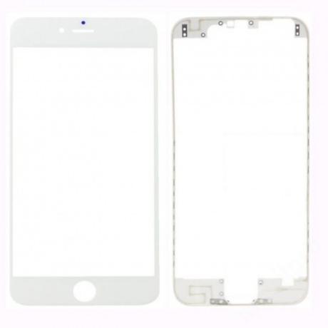 előlap üveg + keret iPhone 7 fehér