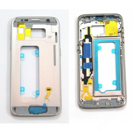 középkeret Samsung G930 S7 arany !AKCIÓS!