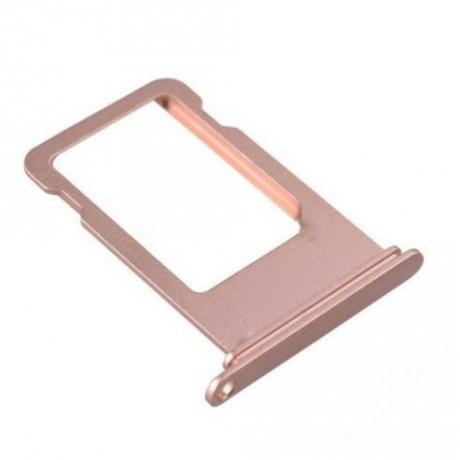 sim tálca iPhone 7 Plus rosegold