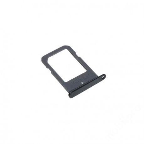 sim tálca Samsung G925 S6 Edge fekete