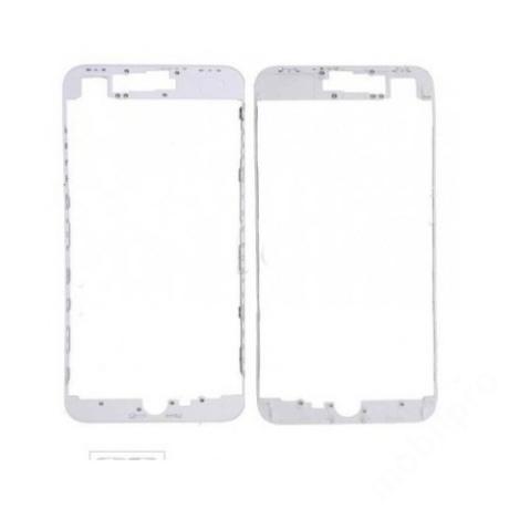 előlap üveg + keret iPhone 8 fehér