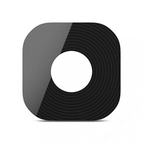 kameralencse üveg Samsung G955 S8 Plus fekete