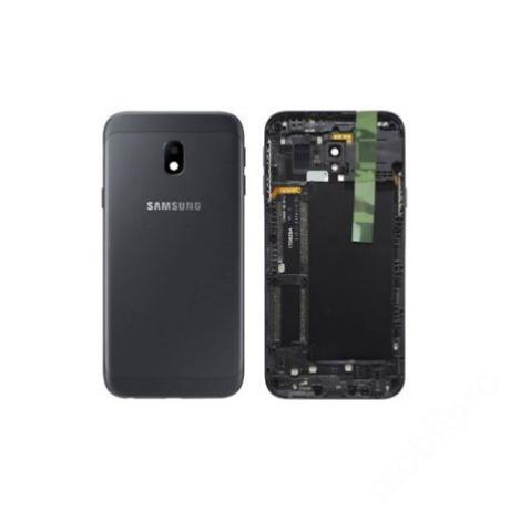 hátlap Samsung J330 J3 2017 J3 fekete ORG GH82-14890A !AKCIÓS!