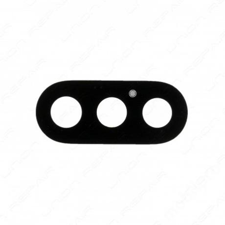 kameralencse üveg iPhone X fekete