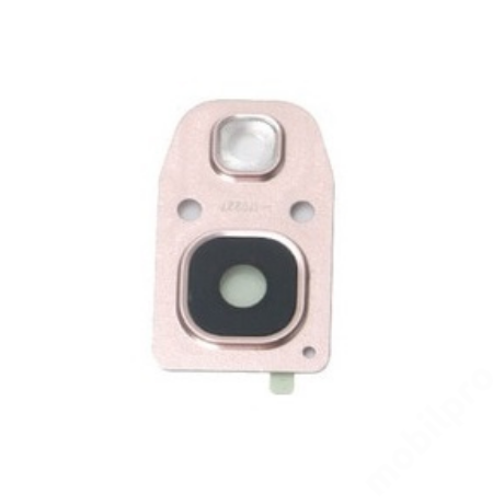 kameralencse üveg Samsung A520 2017 pink