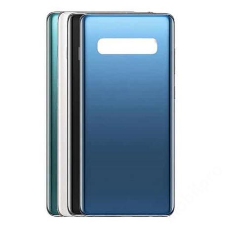 hátlap Samsung G970 S10 Edge fekete logo nélkül
