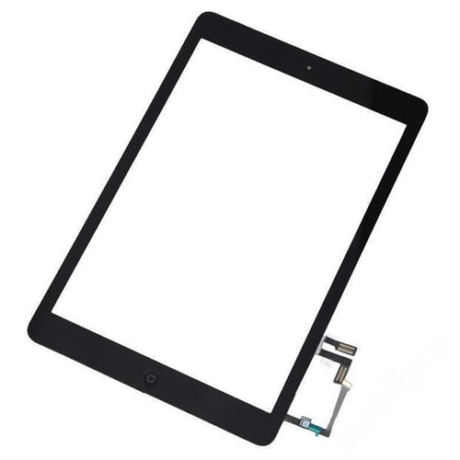 előlap iPad 5 A1822 A1823 fekete