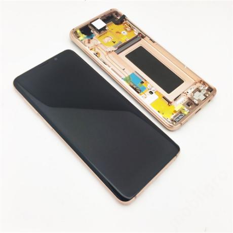 LCD Samsung G960 S9 arany ORG GH97-21696E