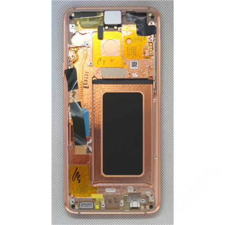 LCD Samsung G965 S9 Plus arany ORG GH97-21691E