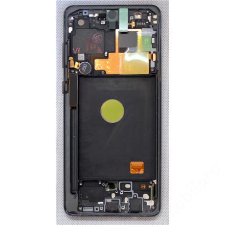 LCD Samsung N770 Note 10 Lite fekete ORG GH82-22055A