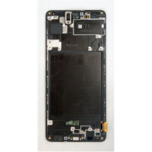 LCD Kijelző Samsung A715 A71 (2020) fekete ORG GH82-22248A