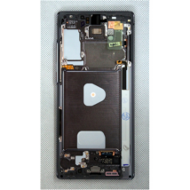LCD Kijelző Samsung N980 Note 20 szürke ORG GH82-23495A