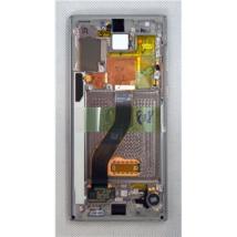 LCD Kijelző Samsung N970 Note 10 ezüst ORG GH82-20818C