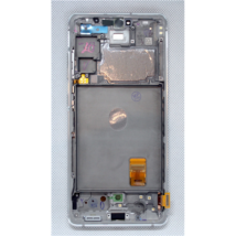 LCD Kijelző Samsung G780 S20FE fehér ORG GH82-24220B