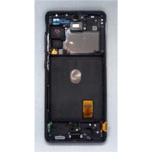 LCD Kijelző Samsung G781 S20FE 5G kék ORG GH82-24214A